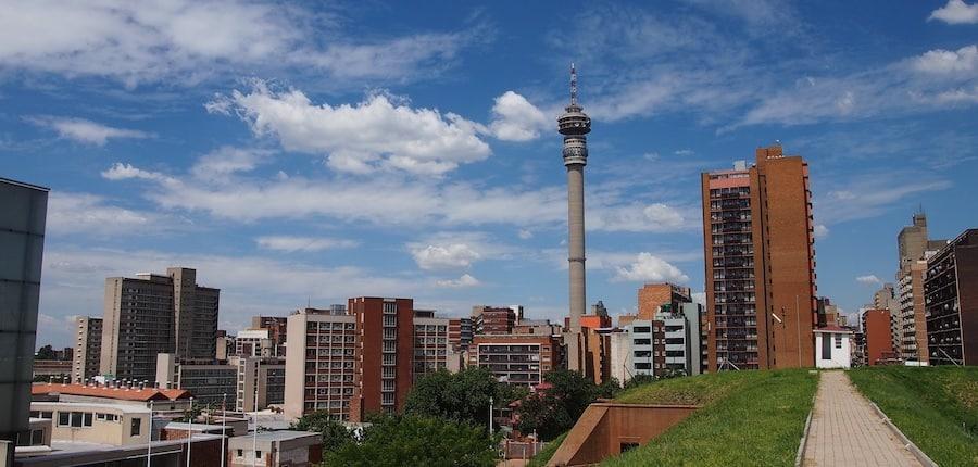 Johannesburg: Blick auf die City