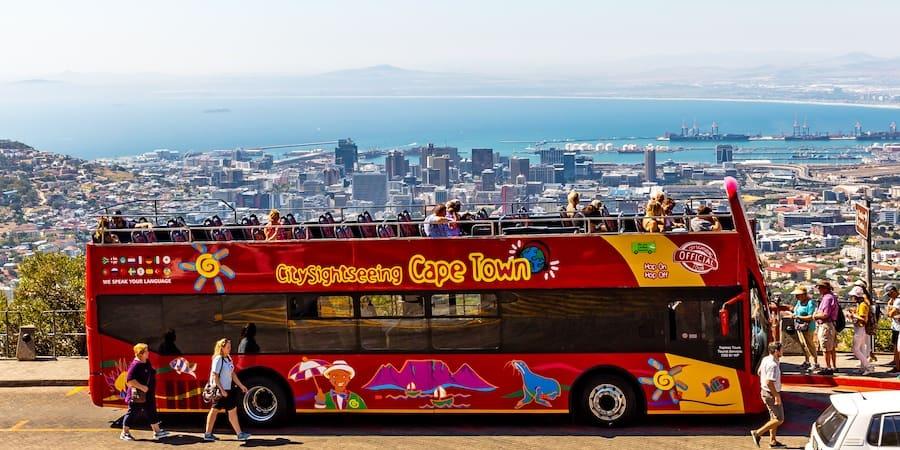 City Sightseeing Bus in Kapstadt