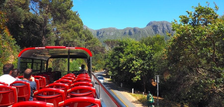 Open Top Bus in Kapstadt