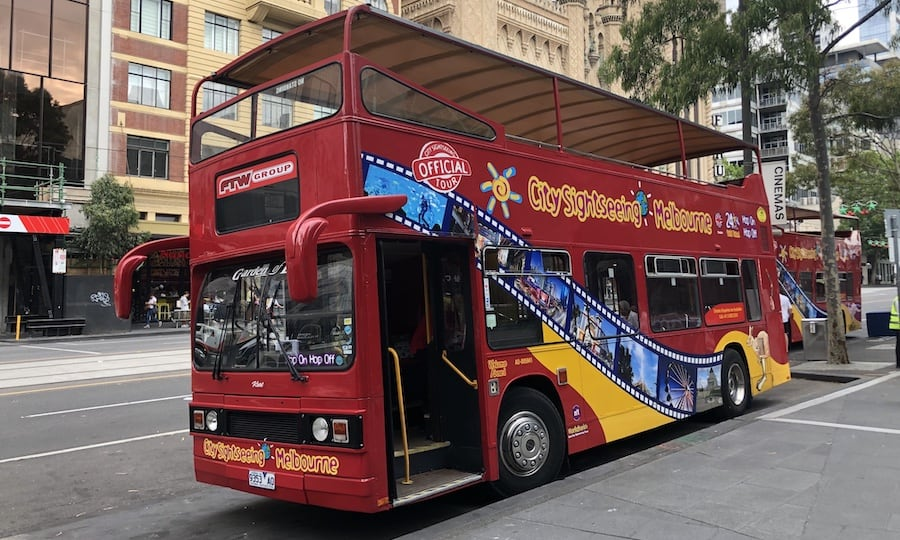 City Sightseeing Bus Melbourne